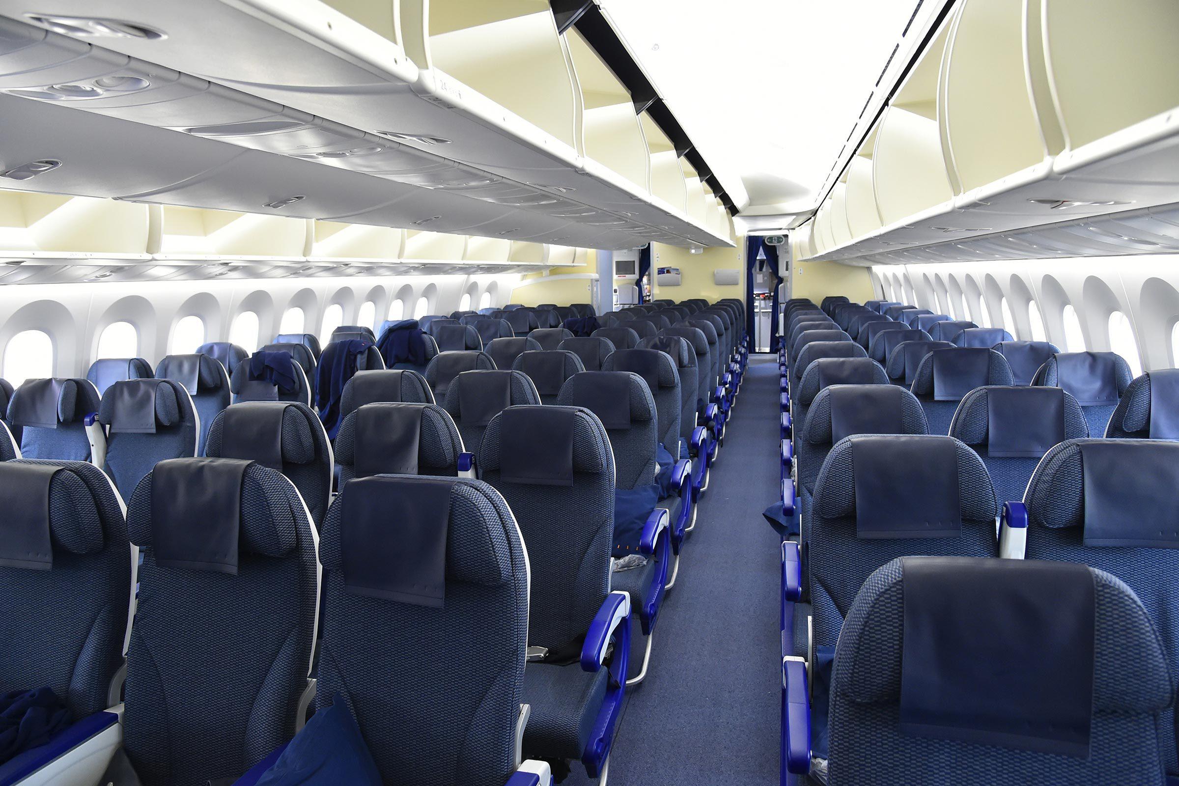 plane aisle