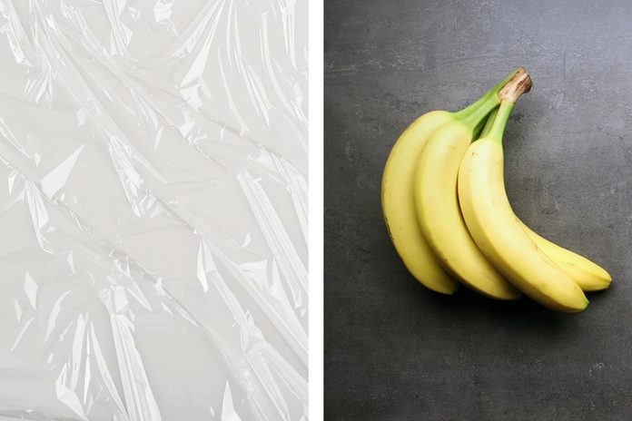 Keep bananas fresh