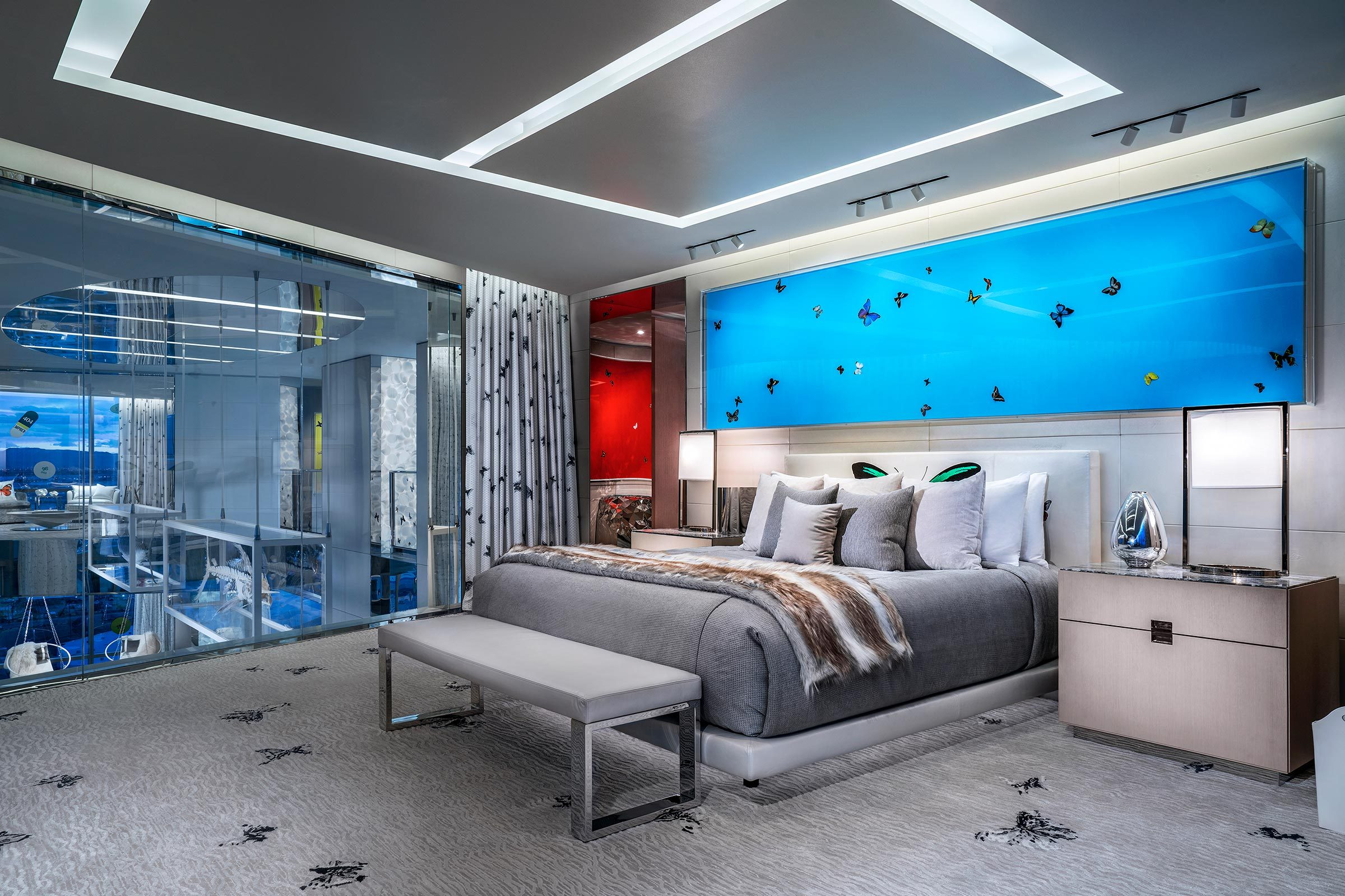most expensive hotel room bedroom
