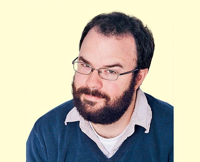 Canadian comedian Jeremy Woodcock