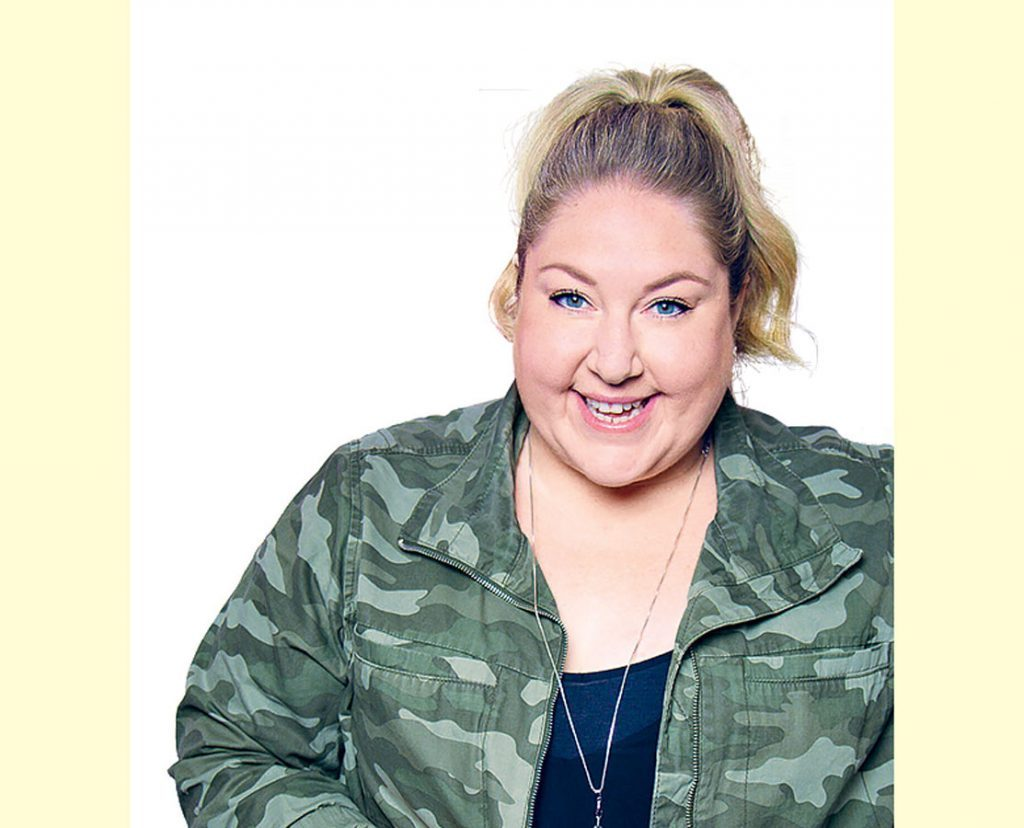 Canadian comedian Kate Barron