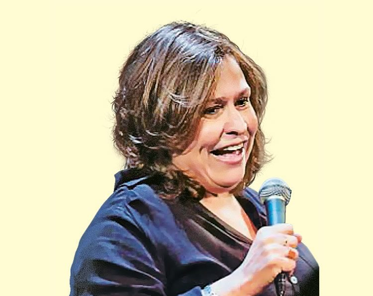 Canadian comedian Martha Chaves