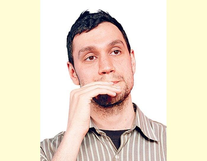 Canadian comedian Nick Nemeroff
