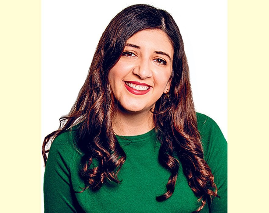 Canadian comedian Nour Hadidi