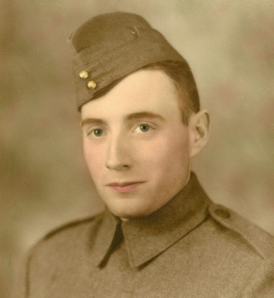 Canadian war veteran - Bob Cameron