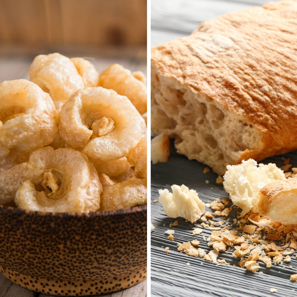 Pork Rinds for Bread Crumbs
