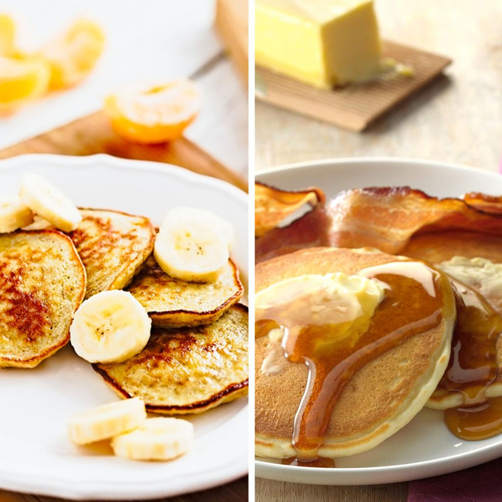 Banana Egg Pancakes for Pancakes