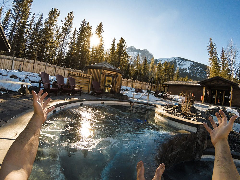 Day trips from Calgary - Kananaskis Nordic Spa
