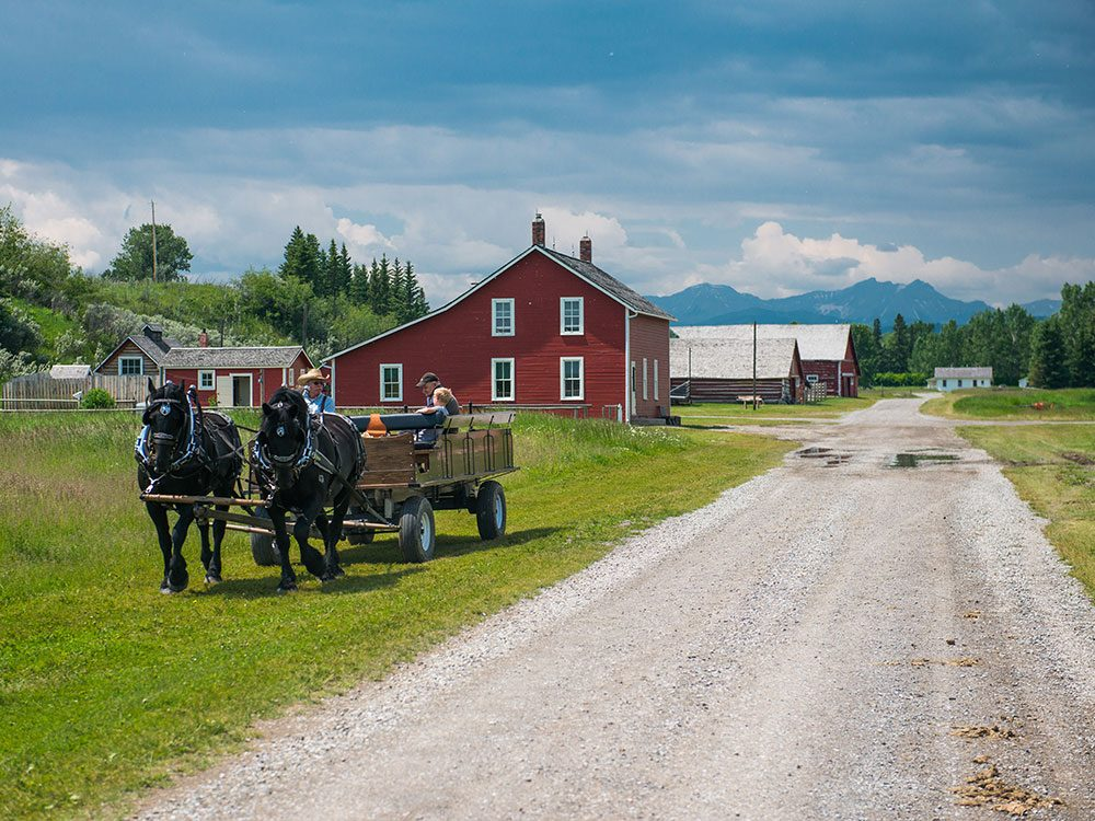 Day trips from Calgary - Bar U Ranch