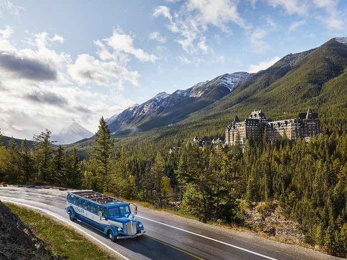 Day Trips From Calgary - Banff Open Top Tours