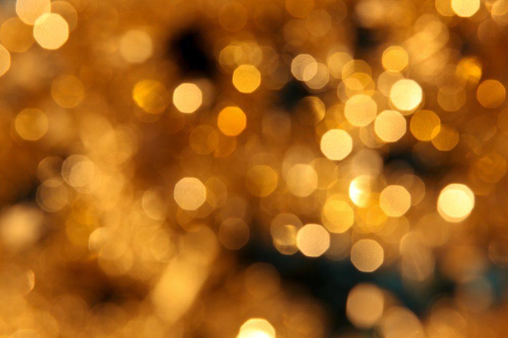 golden christmas lights background xxl