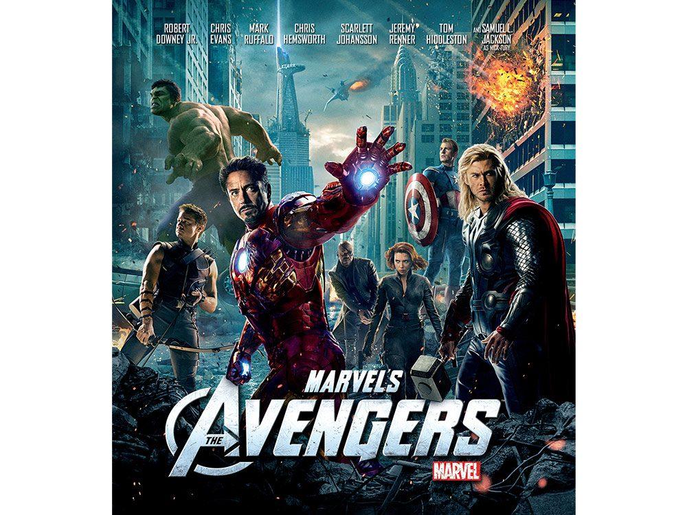 The Avengers - highest-grossing movie