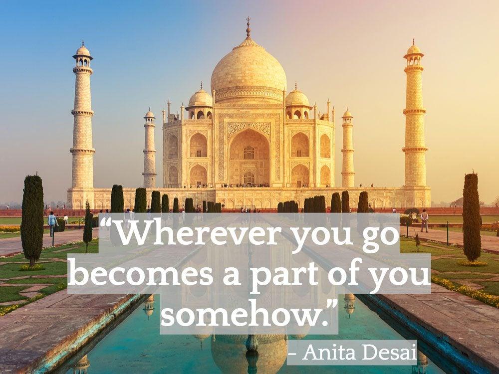Inspiring Indian quotes - Anita Desai
