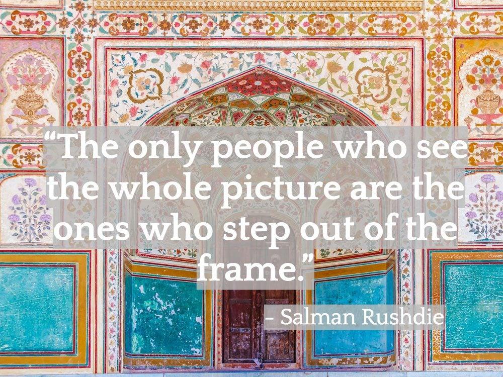Inspiring Indian quotes - Salman Rushdie