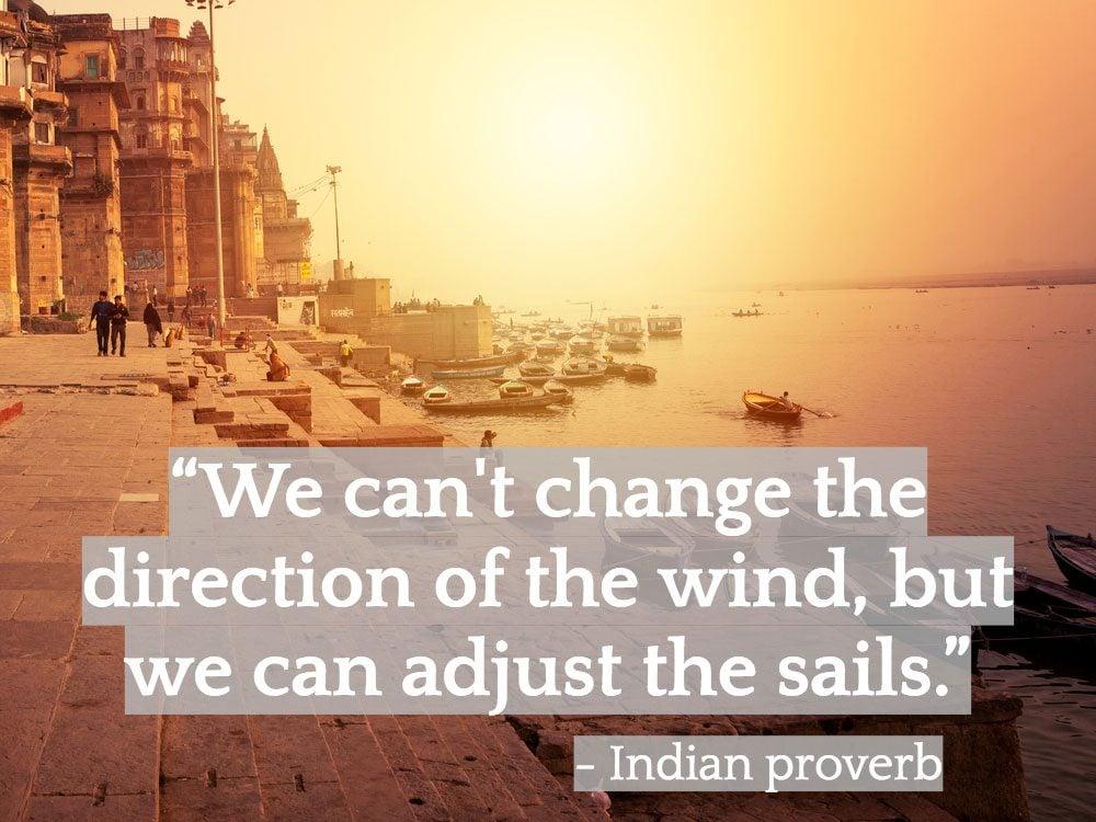 Inspiring Indian quotes - Varanasi