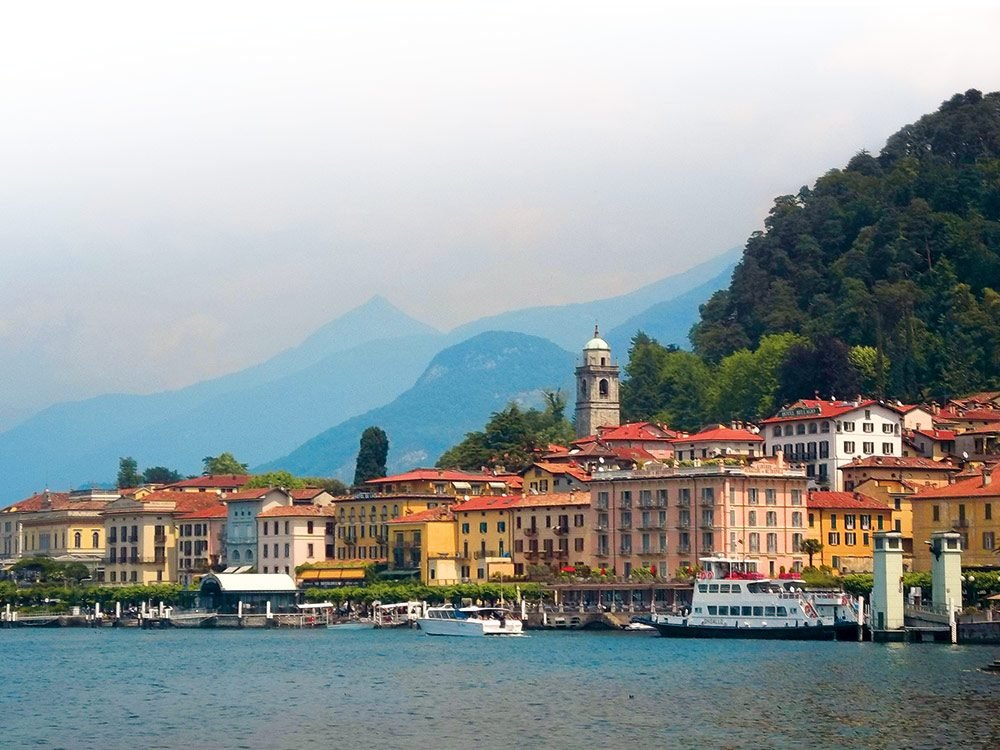 "Bellagio, often referred to as ""The Pearl of Lake Como"""