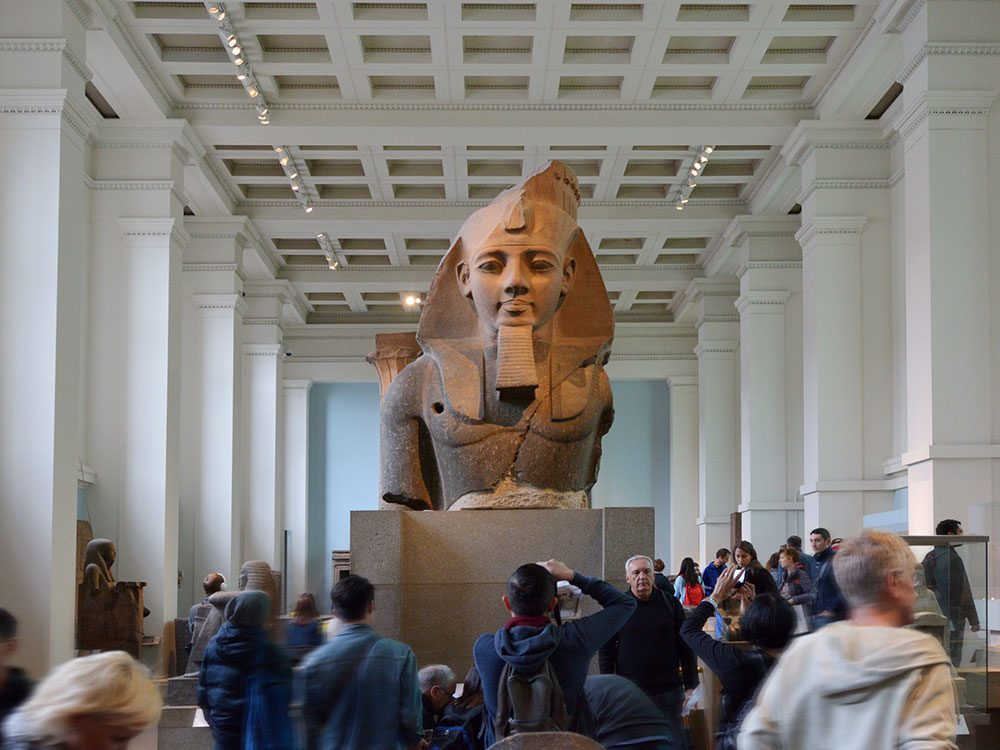 London attractions - British Museum