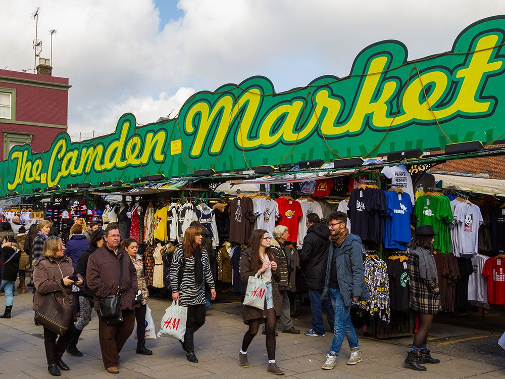 London attractions - Camden Market