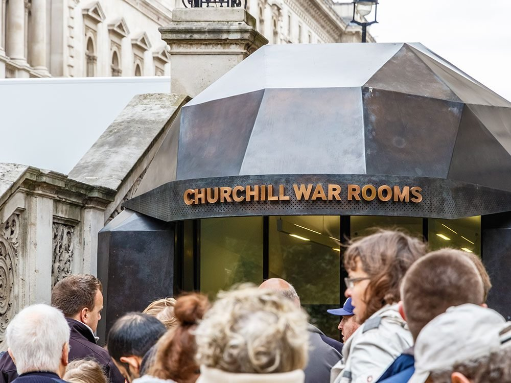 London attractions - Churchill War Rooms