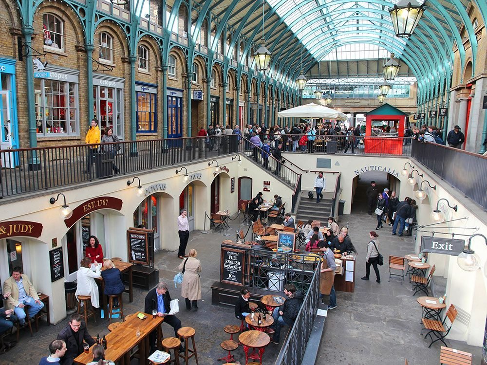London attractions - Covent Garden
