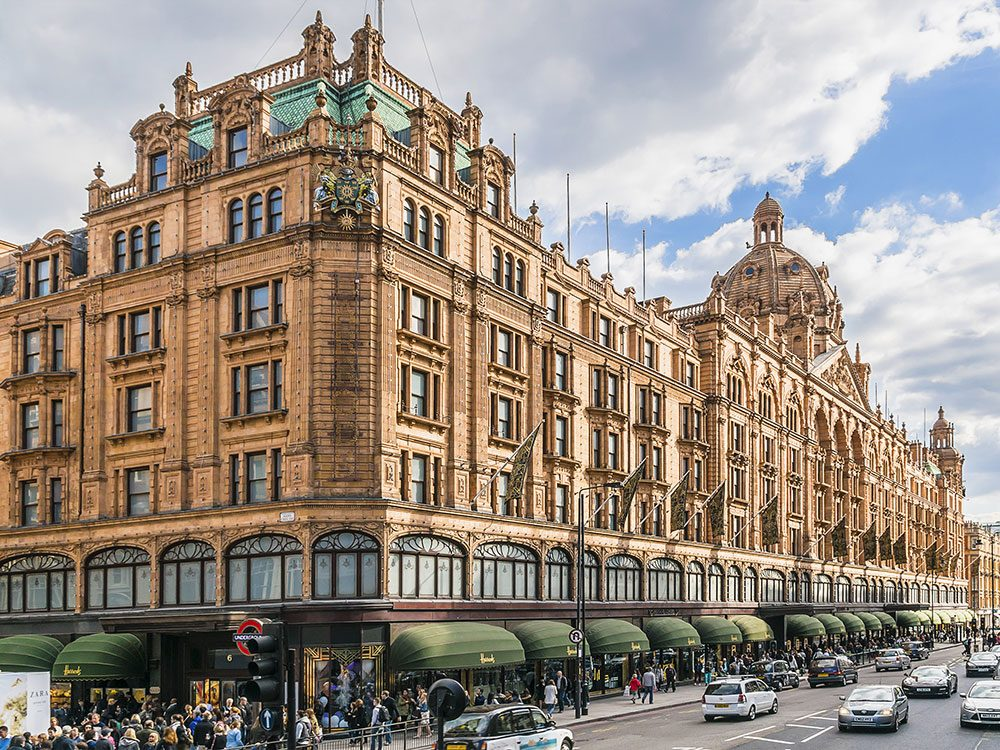 London attractions - Harrods