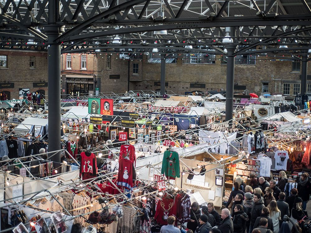 London attractions - Old Spitalfields Market
