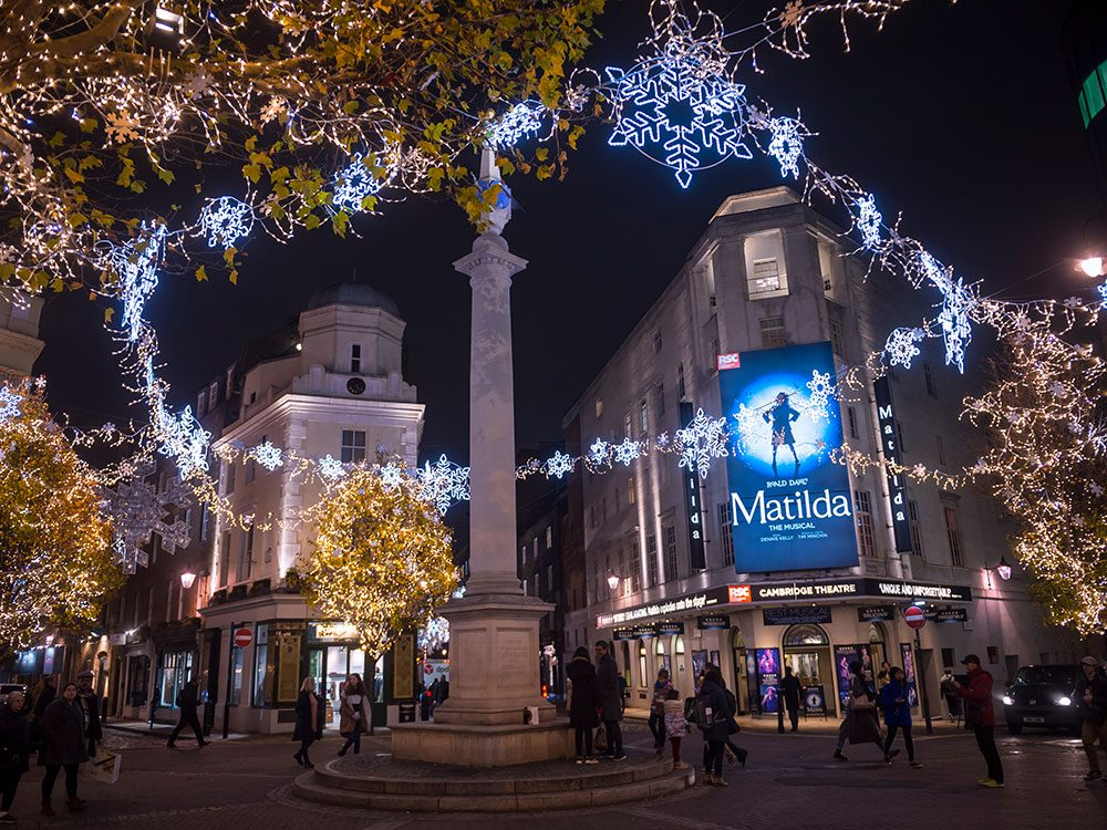 London attractions - Seven Dials