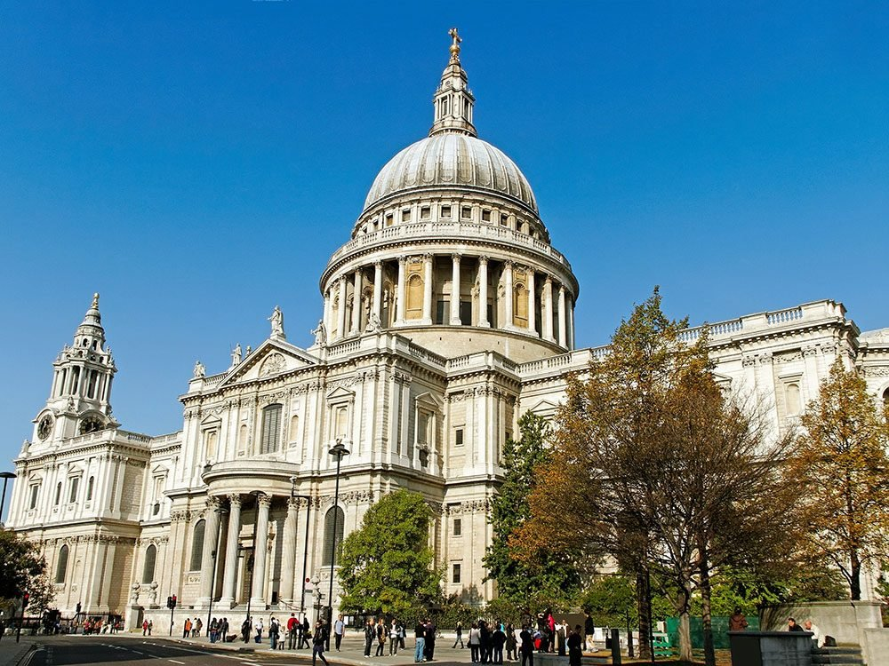 London attractions - St. Paul's Cathedral