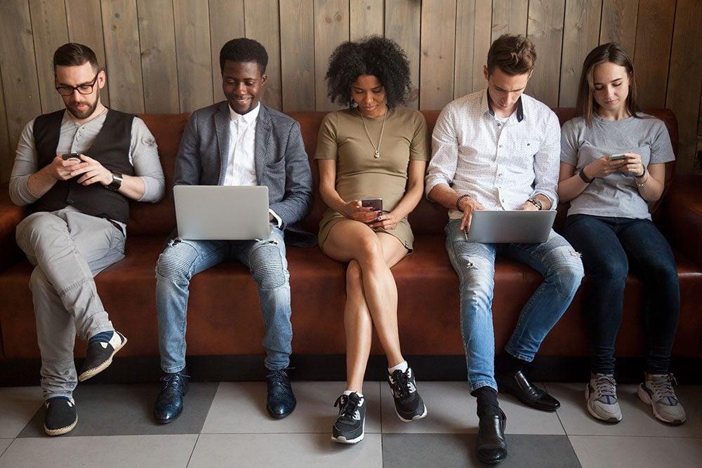Mindful shopping - social media addiction
