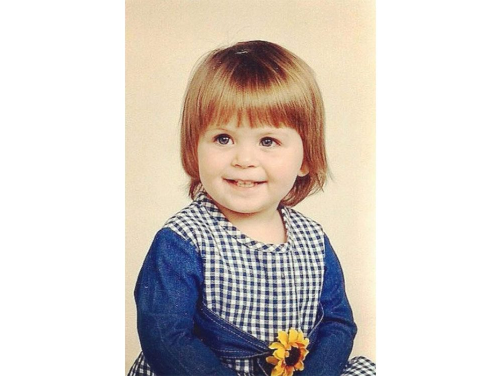 Cute baby from 1993