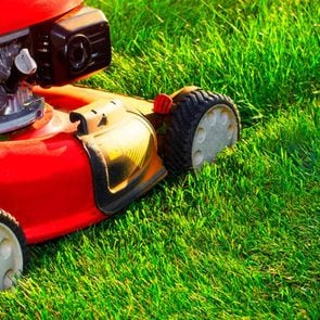 Most efficient way to mow the lawn