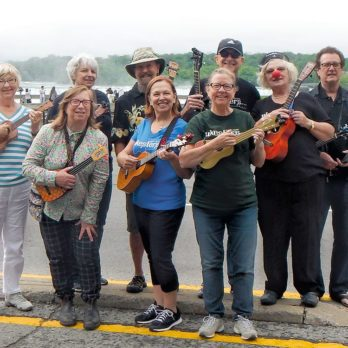 These Ukelele Players Are Spreading Smiles Across the Niagara Region