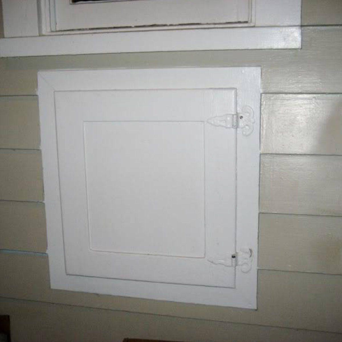 Old home features - ice door