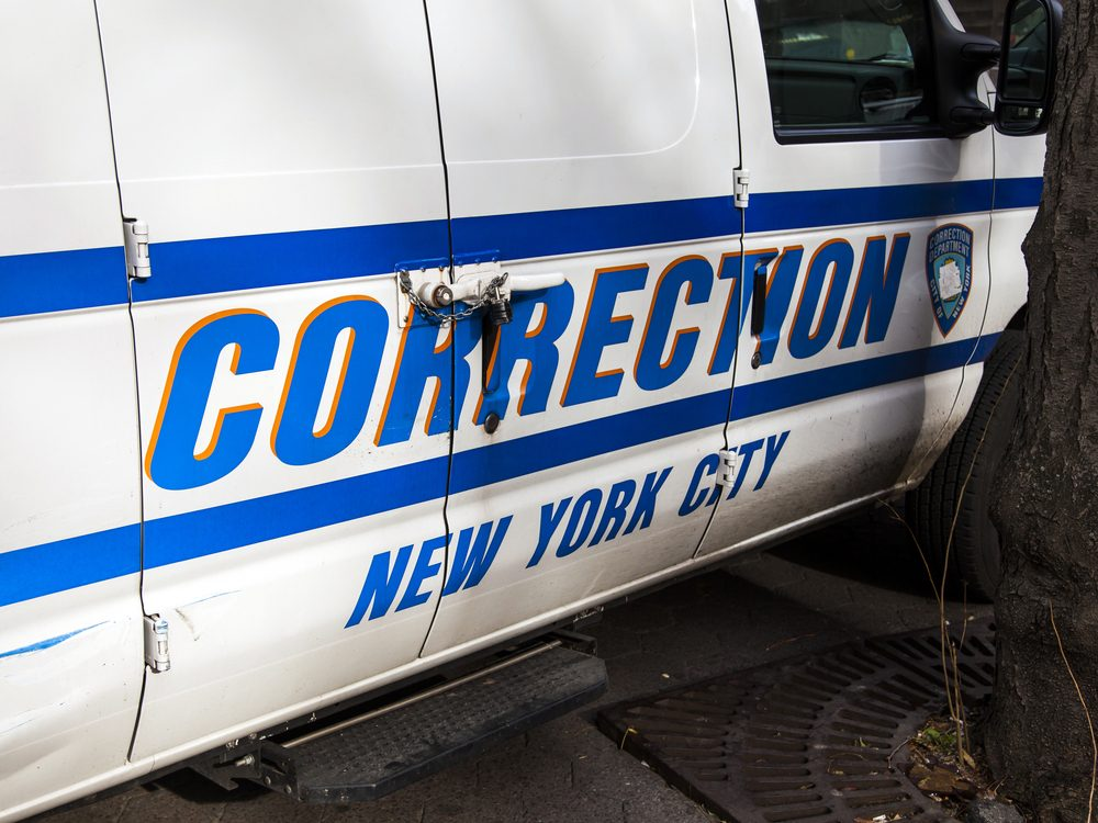 New York corrections truck