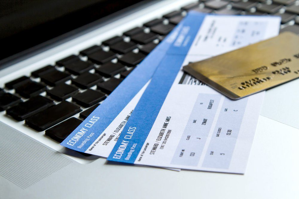 Airline tickets - always do before a flight