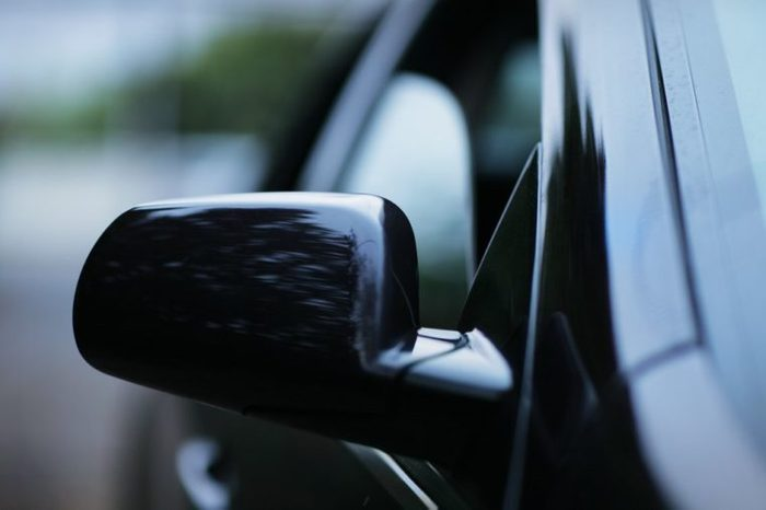 Abstract car background. Shallow DOF.