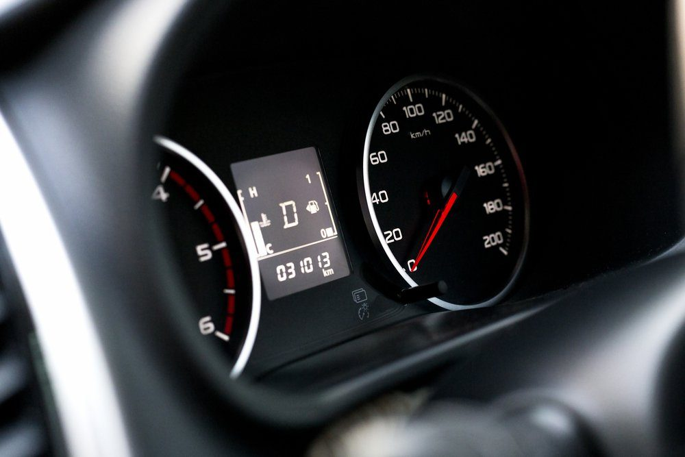 Speedometer - soft focus