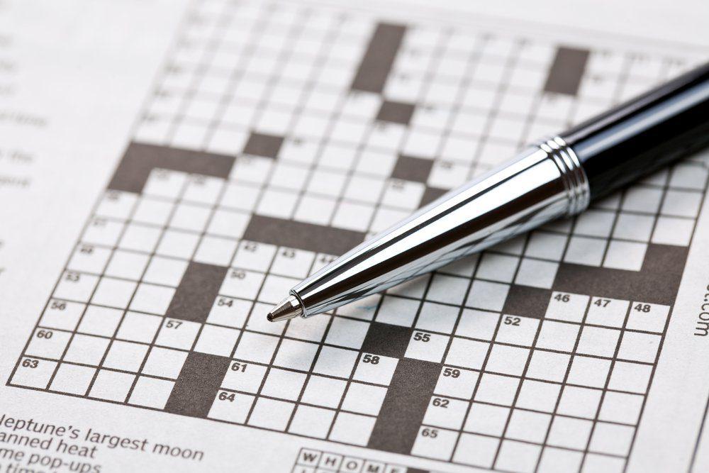 the photo shot of crossword