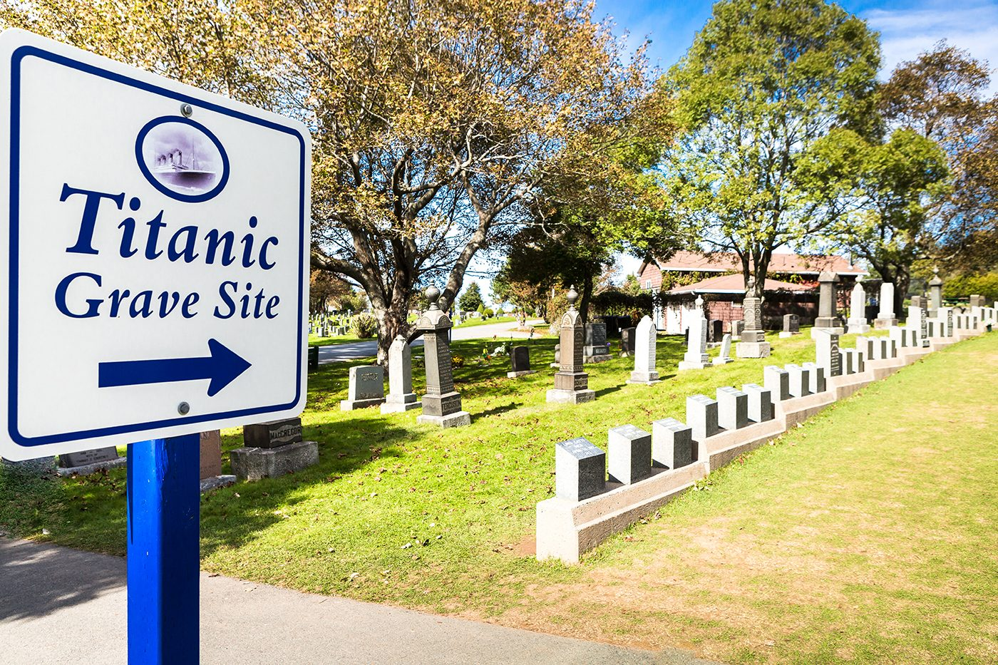 Titanic Facts - Halifax Fairview Lawn Cemetery Titanic Graves
