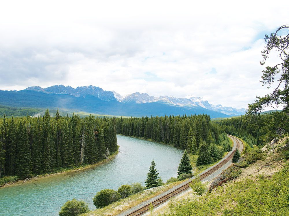 Trip to Alberta - Bow River Parkway