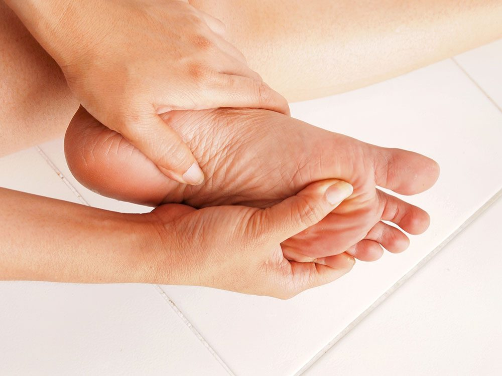 Uses for butter - soothe aching feet