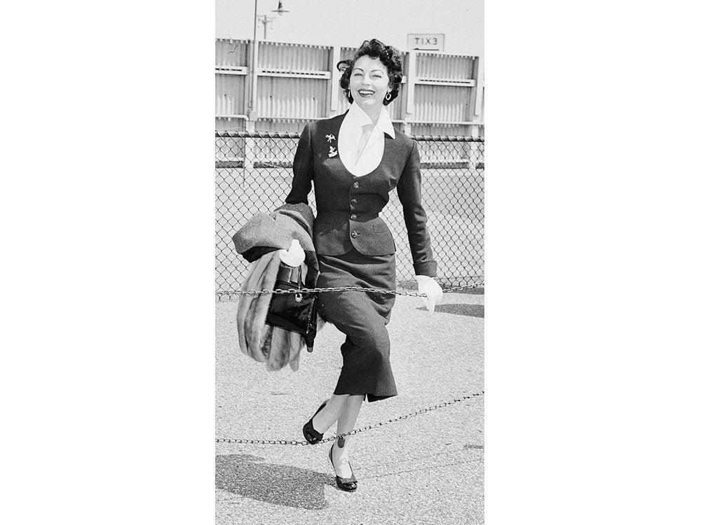 Ava Gardner in the 1950s