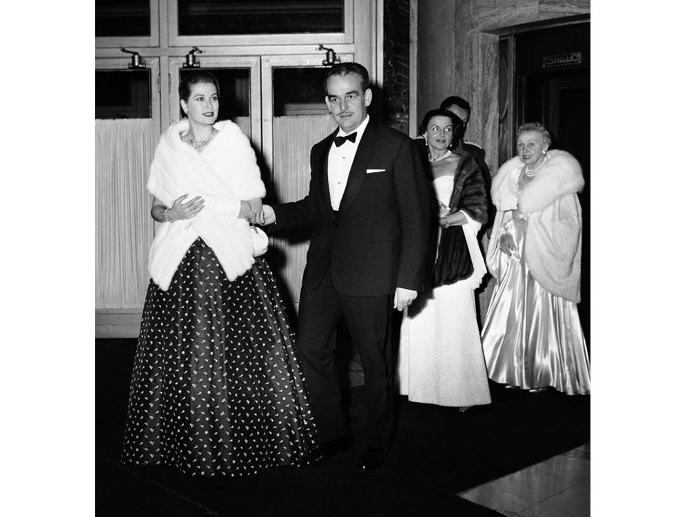Princess Grace Kelly and Prince Albert of Monaco