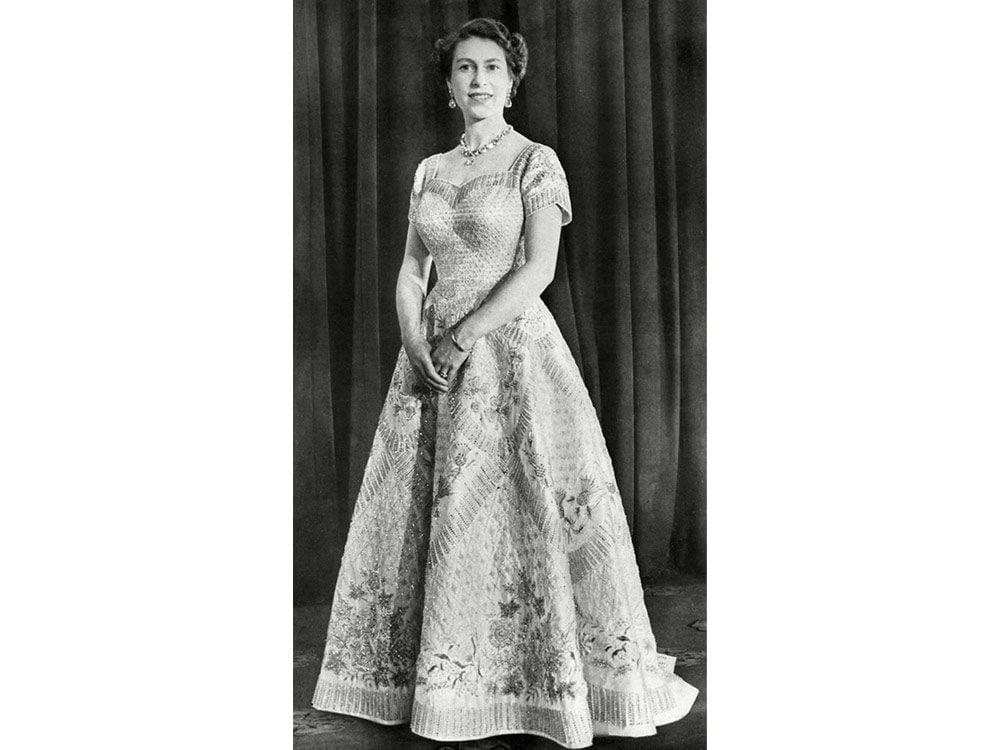 Queen Elizabeth II in the 1950s
