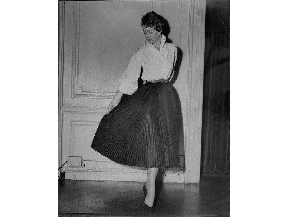 1950s haute couture