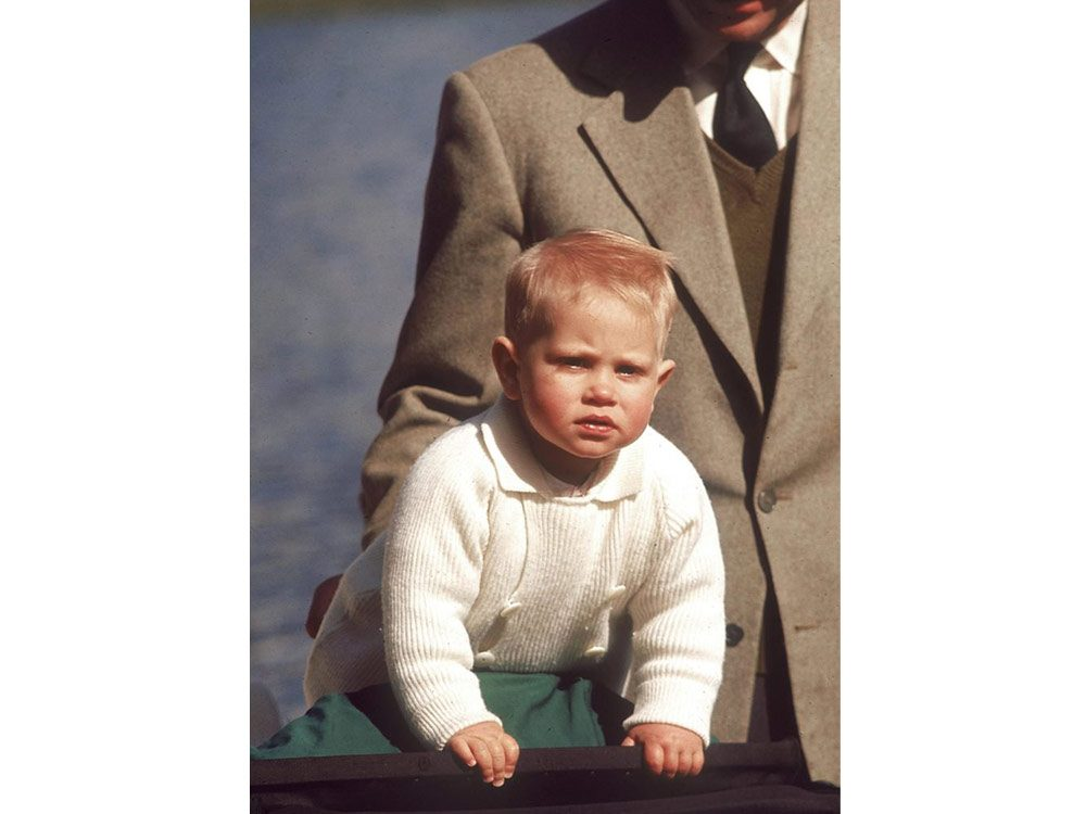 Prince Edward as a baby