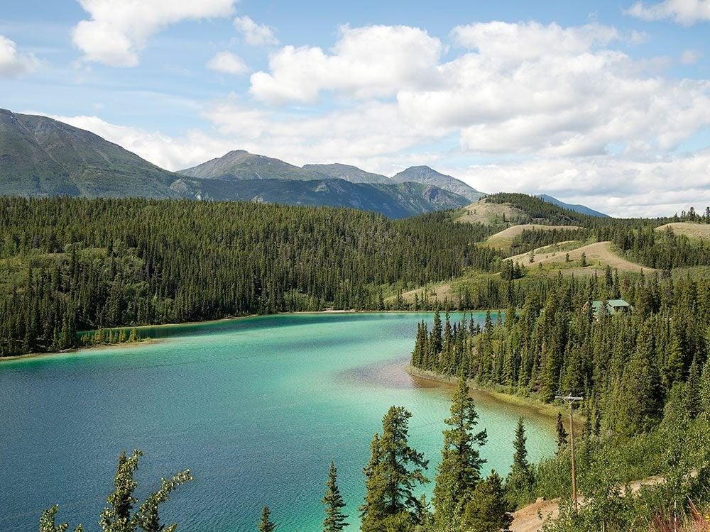 Best part of the Yukon - Emerald Lake