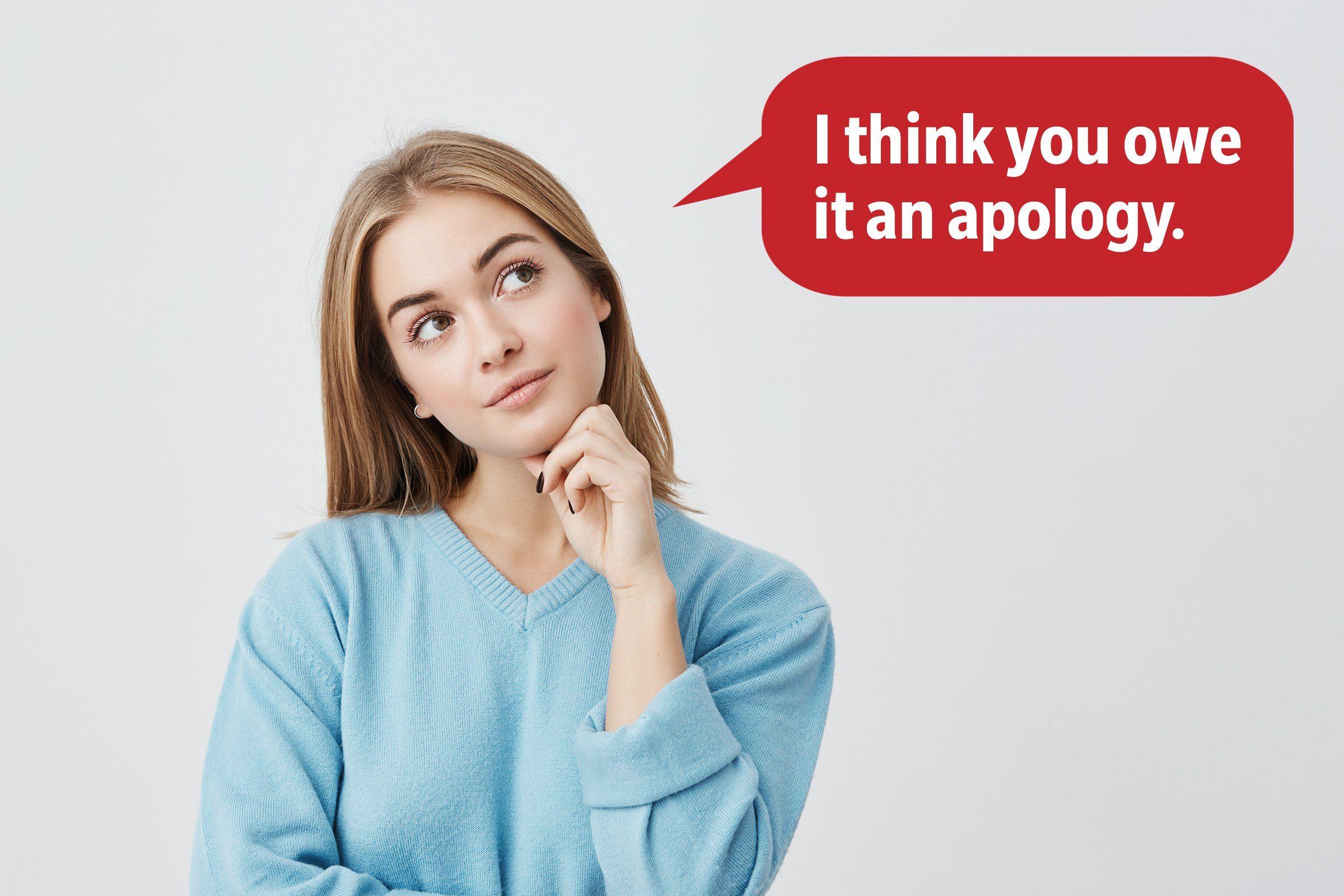 goo comeback apology
