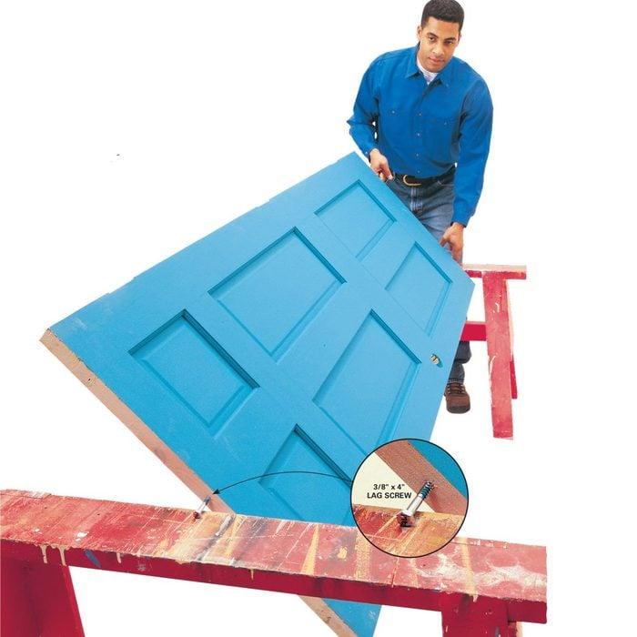 handy hints door painting