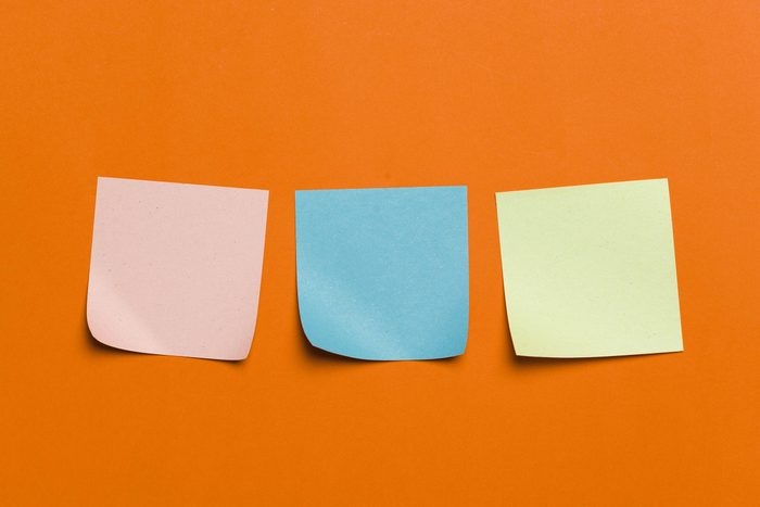 how to improve your memory every day - sticky notes